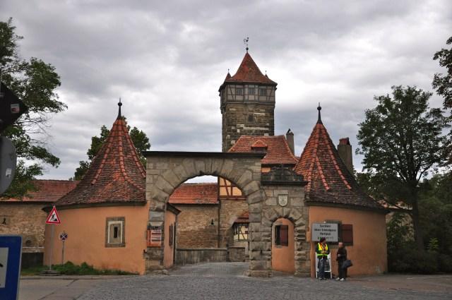 O Portão Rodertor, muito bem preservado.