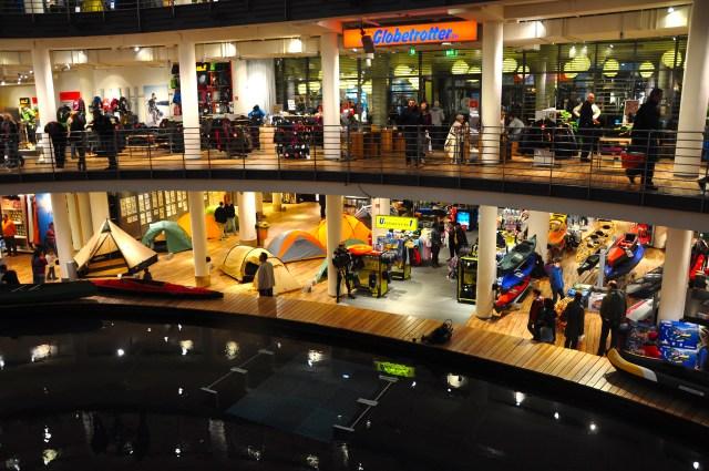 A fantástica loja Globetrotters