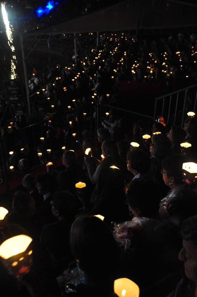 Espetáculo lotado em Gramado