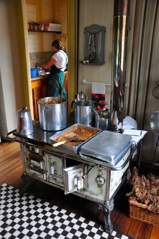 A cozinha do Castelinho. - Joaquim Nery