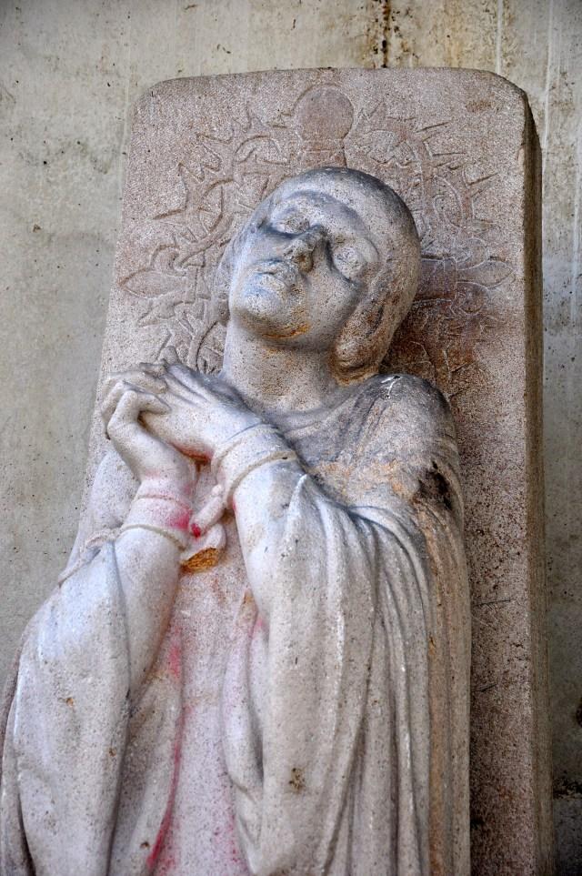 Joana D'Arc, a heroína francesa que virou santa.