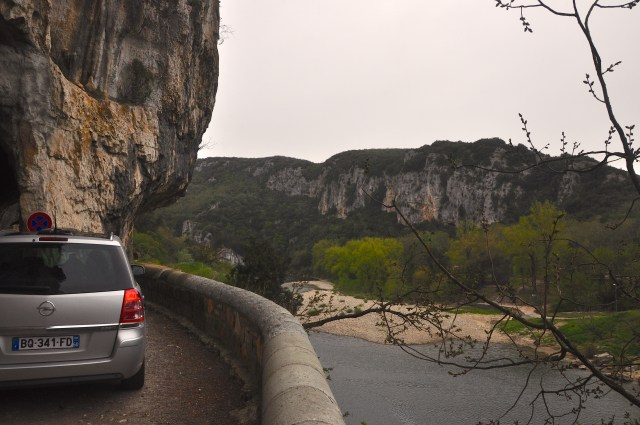 As encostas do Vale do Ardèche