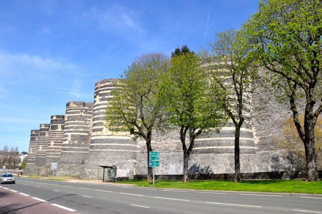 A impressionante fortaleza medieval do Castelo de Angers