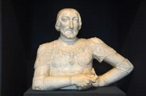 A imagem de Francisco I o patrono de Leonardo da Vinci