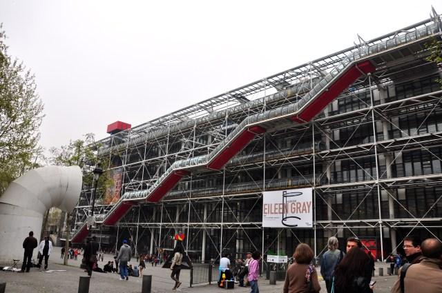 O Centro Georges Pompidou