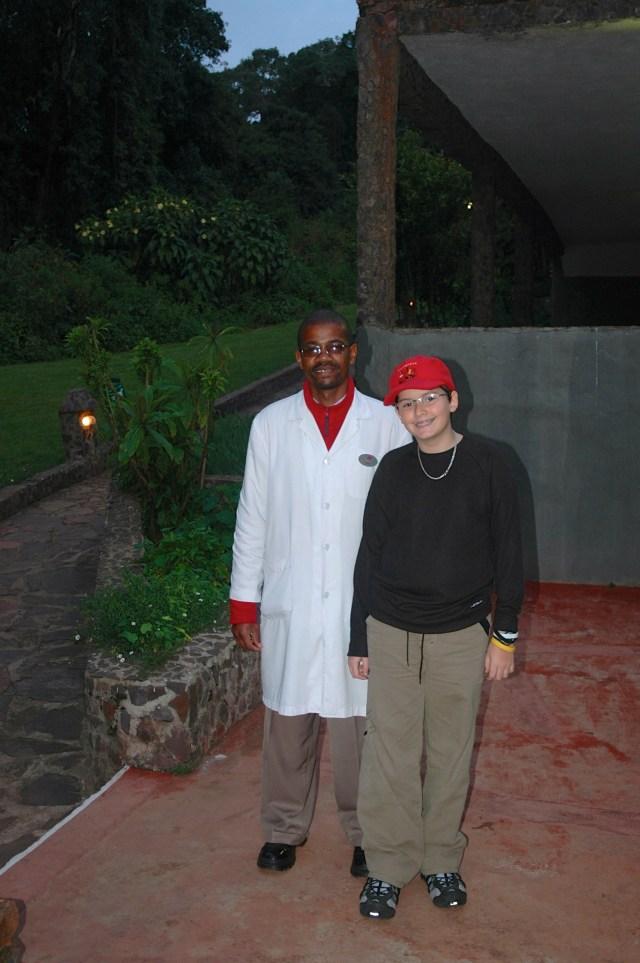 Dr. Peter foi um alento nesse dia difícil na Tanzânia.
