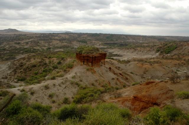 O sítio arqueológico da Garganta do Olduvai