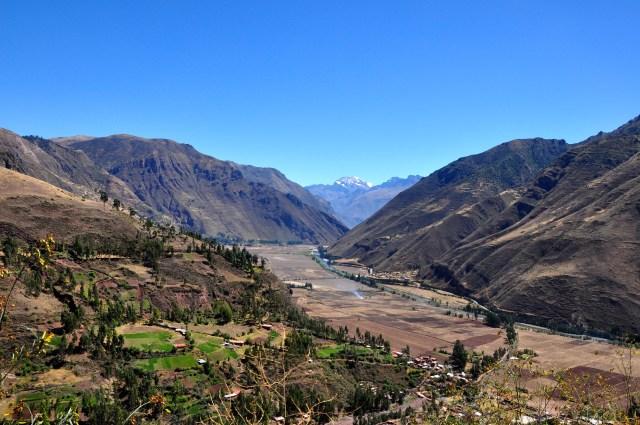 Os vales férteis no centro da Cordilheira dos Andes produzem uma das riquezas do Peru