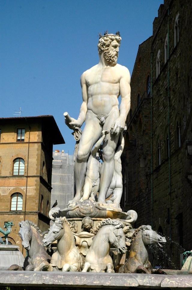 Netuno de Bartolomeo Ammannati