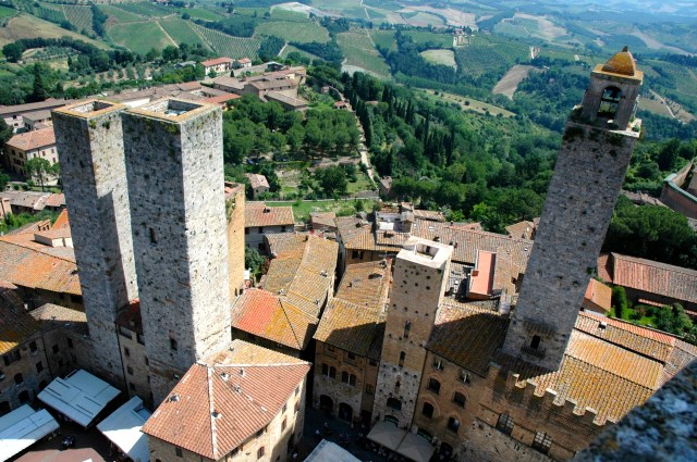 As torres de San Gimignano