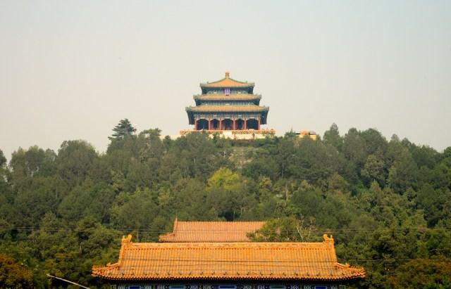 O Parque Jing Shan.