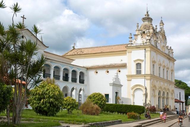 O Complexo do Convento e Igreja do Carmo.
