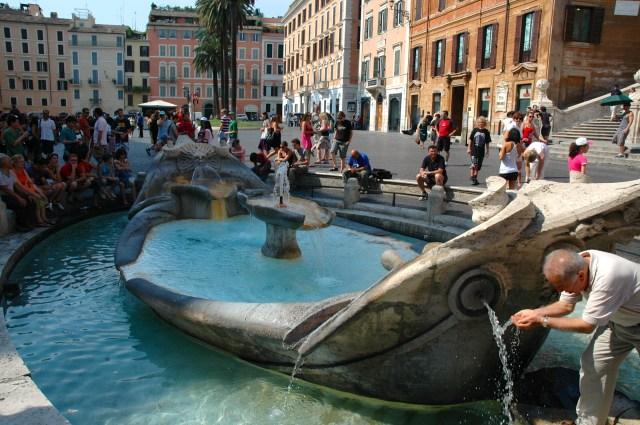 A Fontana de La Barcaccia