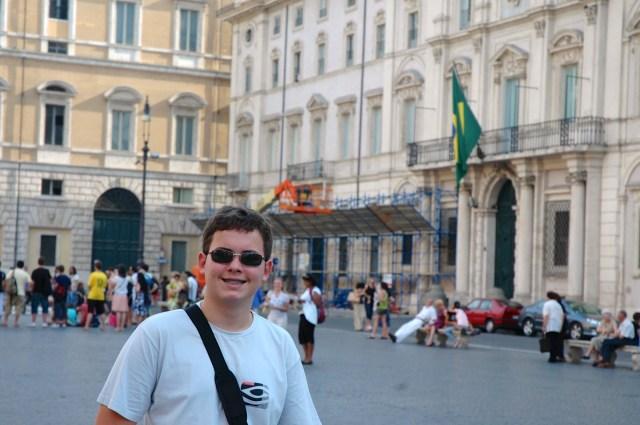 A Embaixada do Brasil em Roma
