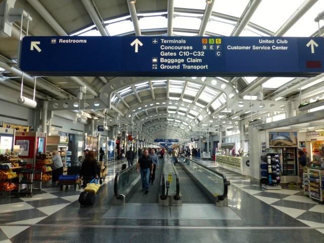 O Aeroporto de Denver é um dos mais movimentados dos Estados Unidos.