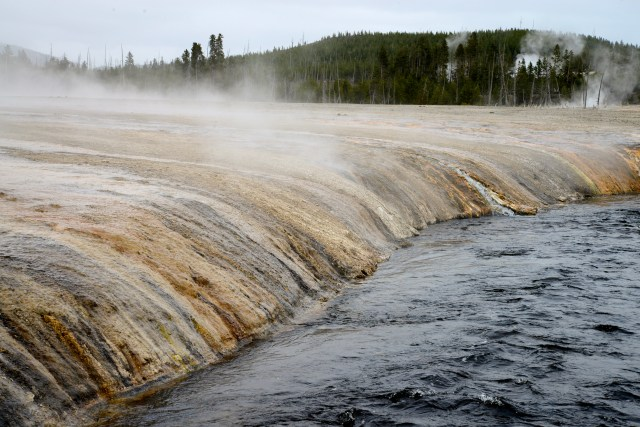 As cores do Yellowstone.