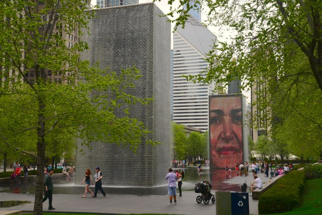 A Crown Fountain