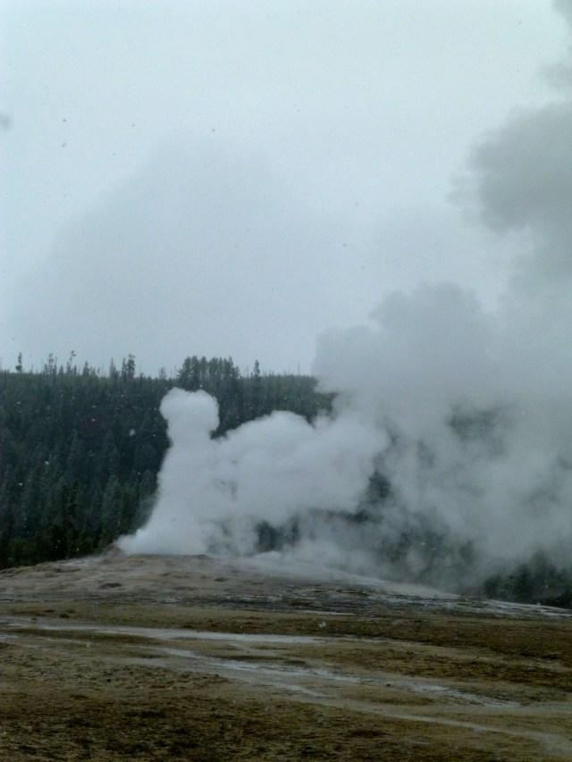 No frio intenso a erupção não acontecia.