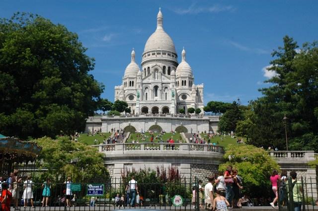 A Basílica de Sacré-Coeur
