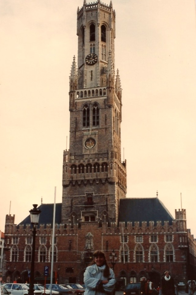 Torre símbolo de Bruges.