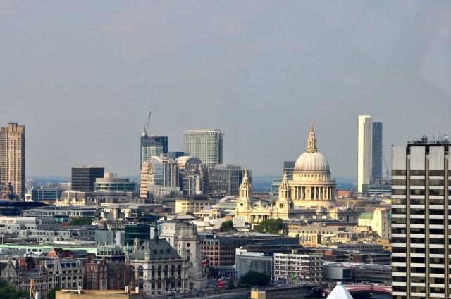 Vista panorâmica de Londres