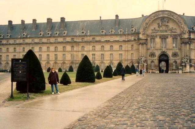 O belo edifício do Hotel des Invalides