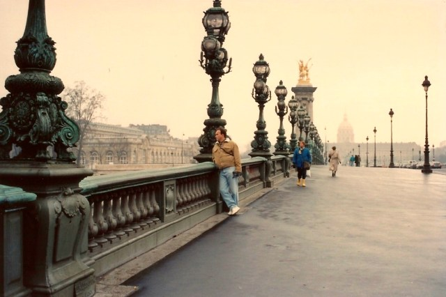 Detalhes da Ponte Alexandre III