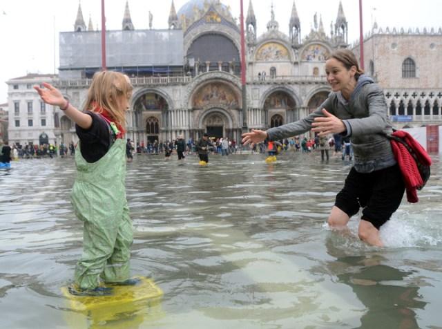 Acqua Alta em Veneza