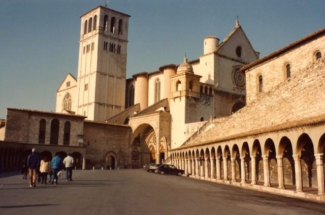 A Basílica de São Francisco de Assis.