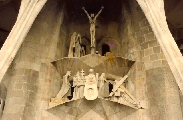 Os detalhes maravilhosos da Sagrada Família.