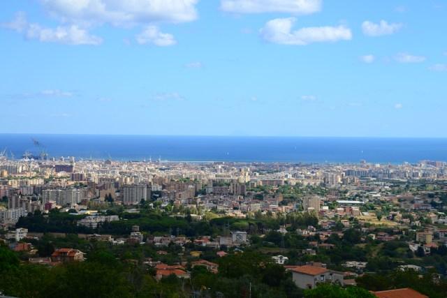 Vista panorâmica da cidade de Palermo.