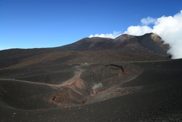 Uma das crateras do Etna