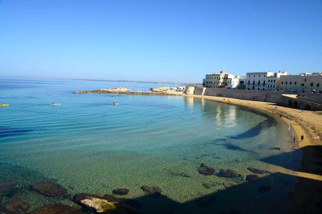 A praia de Gallipoli