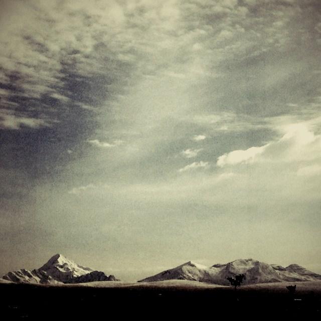 Cordilheira dos Andes - La Paz