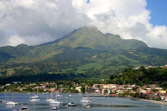 O temido vulcão Mont Pelée