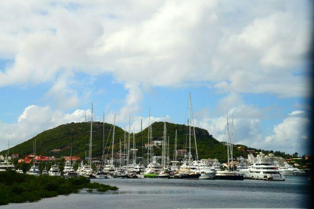 Marina em Sint Maarten