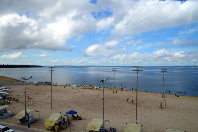 A Praia da Ponta Negra