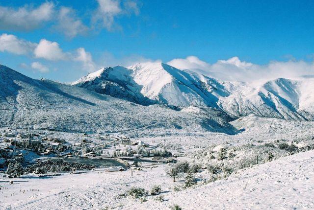 Vista do Cerro Catedral.