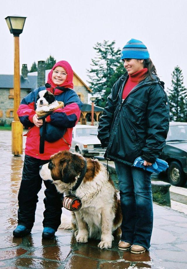 Muita chuva e frio em Bariloche.