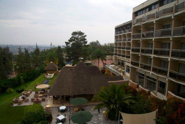 O Hotel des Miles Colines, palco da história do filme Hotel Ruanda