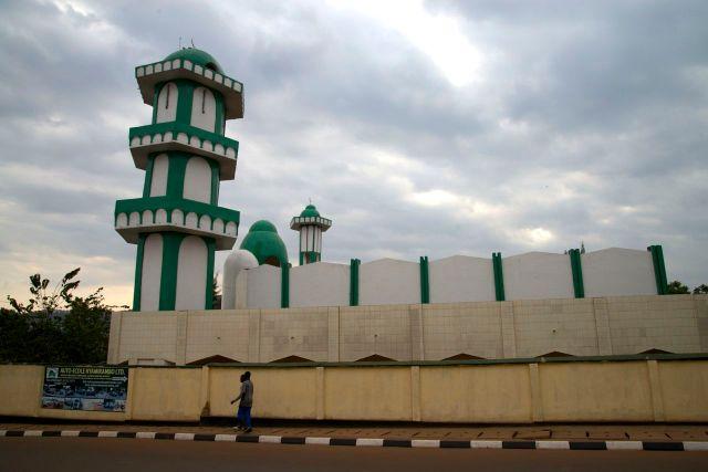 A Mesquita de Kigali.