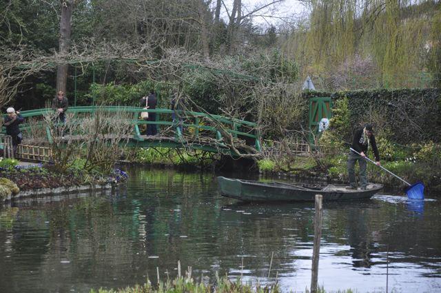 Detalhe dos jardins de Monet.