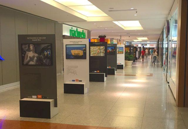 A exposição está no Shopping da Bahia.