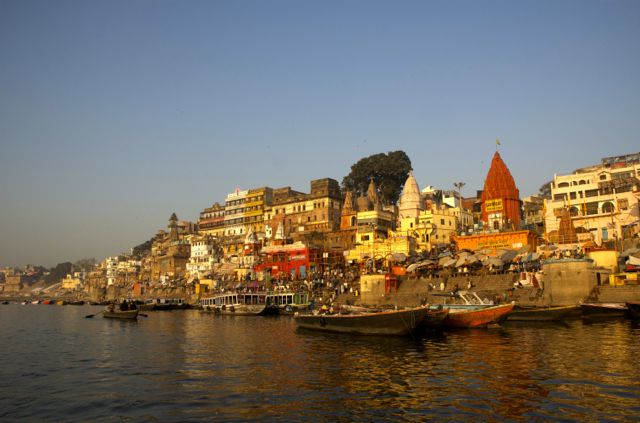 As Gates de Varanasi, na Índia.