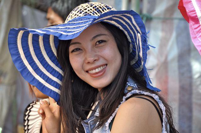 A beleza chinesa no Festival de Dali.