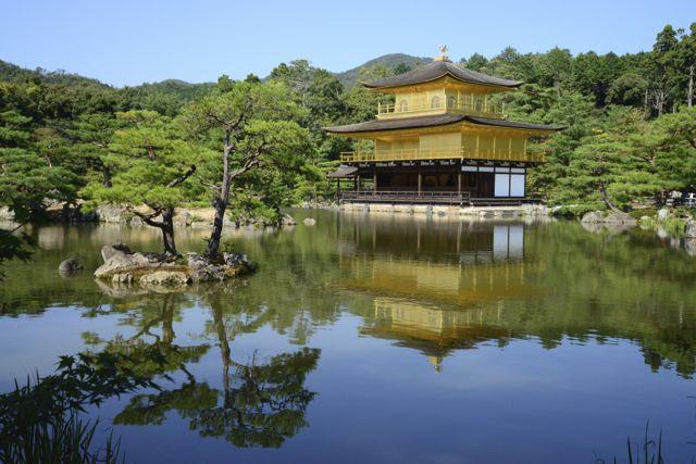Templo de ouro de Quioto.