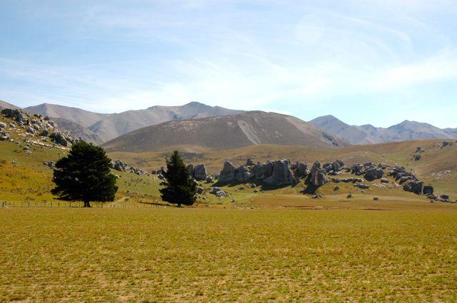 As paisagens do Senhor dos Anéis na Nova Zelândia.