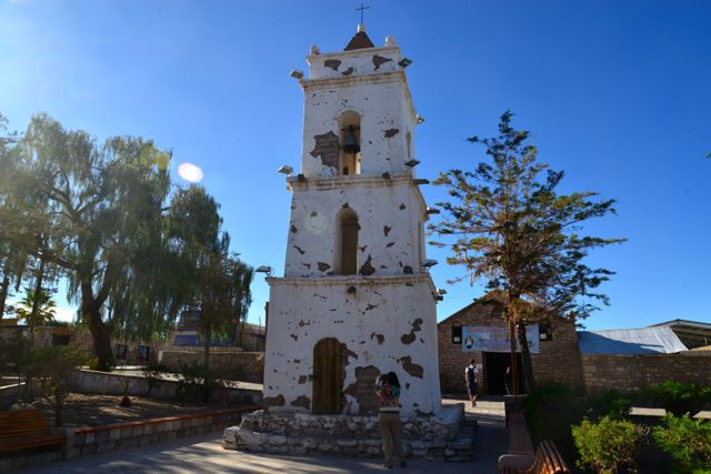 O Campanário San Lucas, do século XVIII.