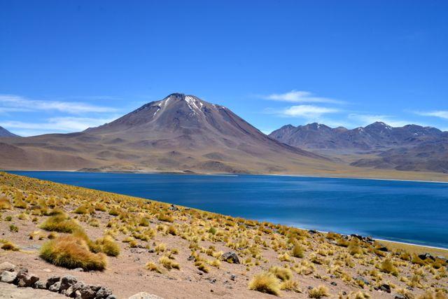 Paisagens de contrastes no Chile.
