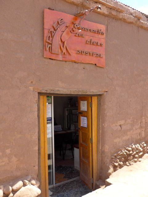 O escritório da Space na Rua Caracoles.